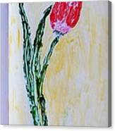 Tulip For You Canvas Print