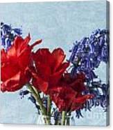 Tulip Macro 2 Canvas Print