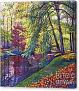 Tulip Park Canvas Print