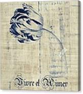 Tulip - Vivre Et Aimer S04t03t Canvas Print