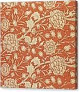 Tulip Wallpaper Design Canvas Print