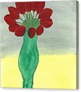Tulips Of Love Canvas Print