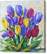 Tulips Time Love The Spring By Prankearts Canvas Print