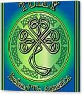 Tully Ireland To America Canvas Print