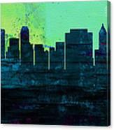 Tulsa City Skyline Canvas Print