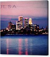 Tulsa Colors Canvas Print