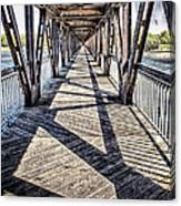 Tulsa Pedestrian Bridge Canvas Print
