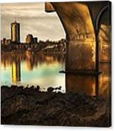 Tulsa Under Bridge 5 Canvas Print