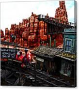Tumbleweed Town Magic Kingdom Canvas Print