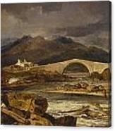 Tummel Bridge Canvas Print