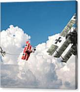 Tumult In The Clouds Canvas Print