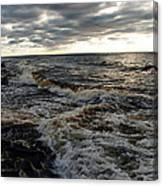 Tumultious Waters Canvas Print