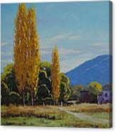 Tumut Farm Canvas Print