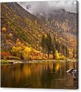 Tumwater Canyon Fall Serenity Canvas Print