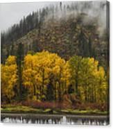 Tumwater Canyon Canvas Print