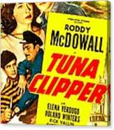 Tuna Clipper, Us Poster, Top From Left Canvas Print