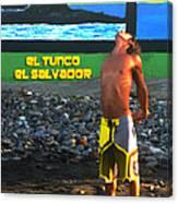 Tunco Card Stretch Ylwm Pl Canvas Print