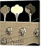 Fender Precision Bass Canvas Print