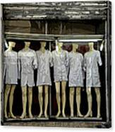Tunesian Mannequins Canvas Print