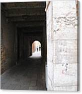 Tunnel In Venice Canvas Print