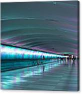 Tunnel Of Colour Canvas Print