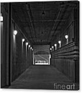 Tunnel Of Heroes 2 Canvas Print