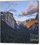 Tunnel View Canvas Print