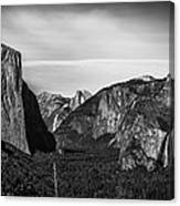 Tunnel View Yosemite  Canvas Print