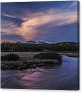 Tuolumne Meadows Sunset Canvas Print