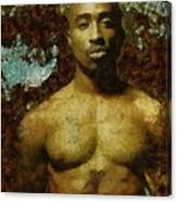 Tupac Shakur - Tribute Canvas Print