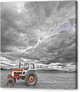 Turbo Tractor Superman Country Evening Skies Canvas Print