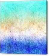 Turbulence Ocean Storm At Sunset Canvas Print