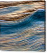 Turbulence Water And Color  73a9760 Canvas Print
