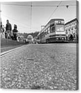 Turin Trolley Canvas Print