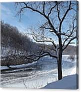 Turkey River Canvas Print