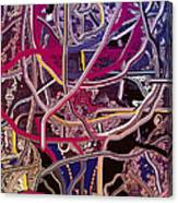Turkish Carpet Revisited Canvas Print