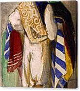 Turkish Carpet Seller, 1841 Canvas Print