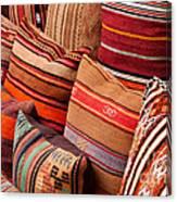 Turkish Cushions 03 Canvas Print