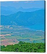 Turkish Farms Along The Aegean Sea Canvas Print