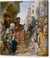 Turkish Street Scene Canvas Print