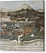 Turkish-venetian Wars. War Of Candia Or Canvas Print