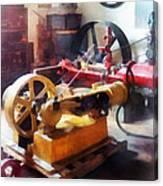 Turn Of The Century Machine Shop Canvas Print