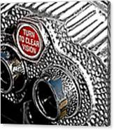 Turn To Clear Canvas Print