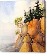 Turnagain Rocks Canvas Print