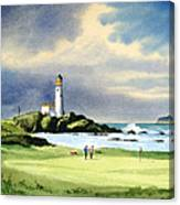 Turnberry Golf Course Scotland 10th Green Canvas Print