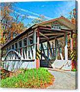 Turner's Covered Bridge Canvas Print