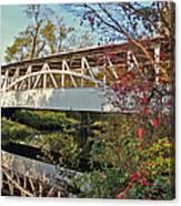 Turner's Covered Bridge Canvas Print