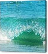 Turquois Waves  Canvas Print
