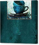Turquoise Cups Canvas Print