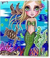 Turtle Cove Canvas Print